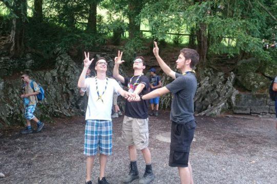 Camp d'été éclaireurs 2016 – Voie suisse